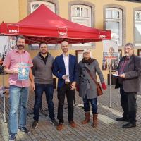 Infostand OV Neustadt/Aisch
